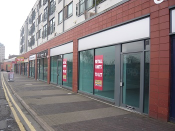 Double retail unit lets at St Matthews Quarter in Walsall
