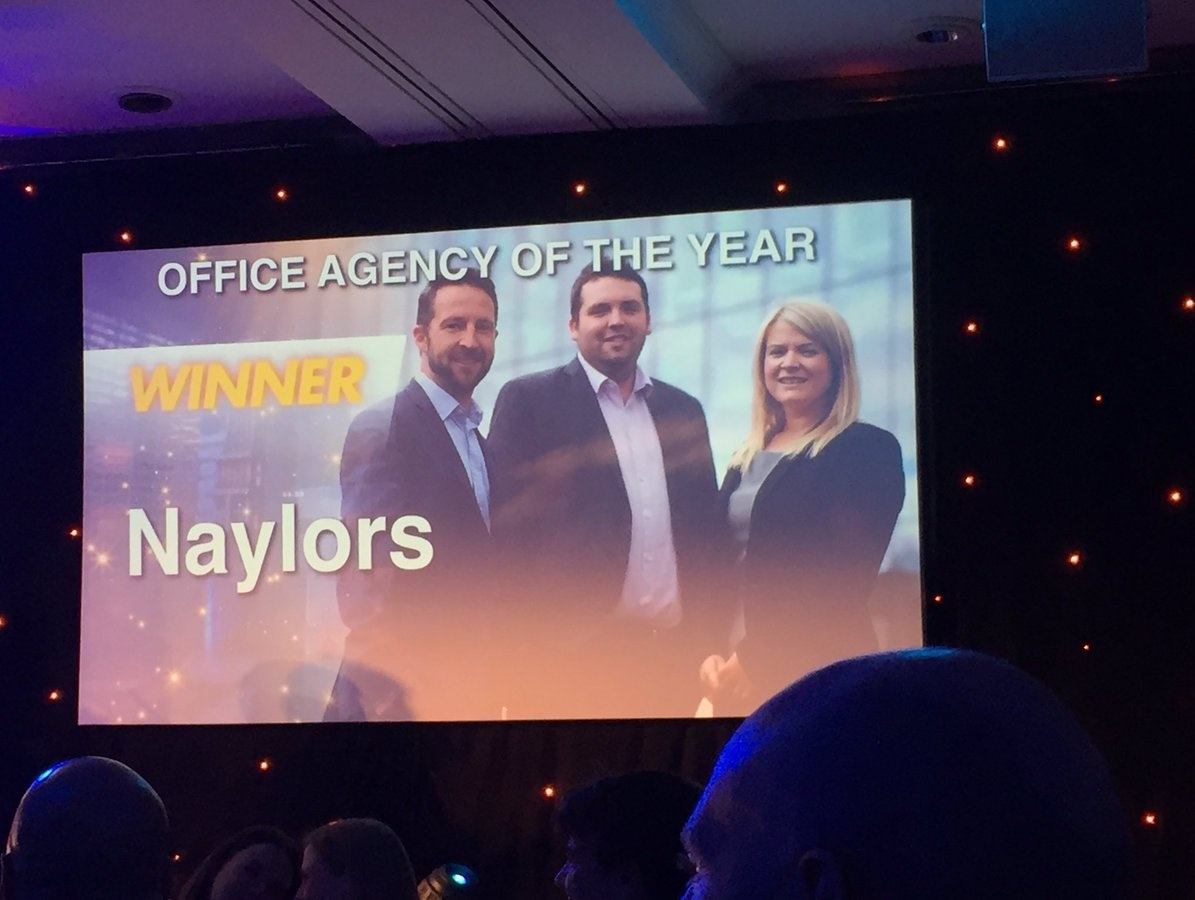 Naylors crowned Office Agency of the Year