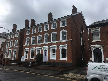 Period Office Building sells in Walsall Town Centre