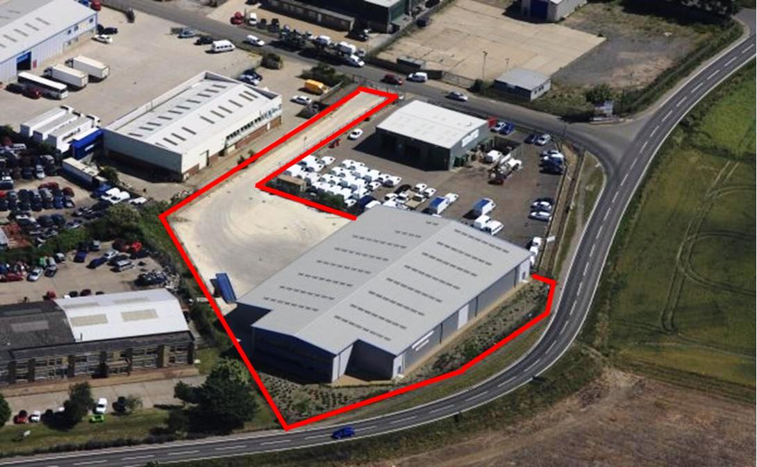 Industrial site sold to accommodate Watling JCB expansion