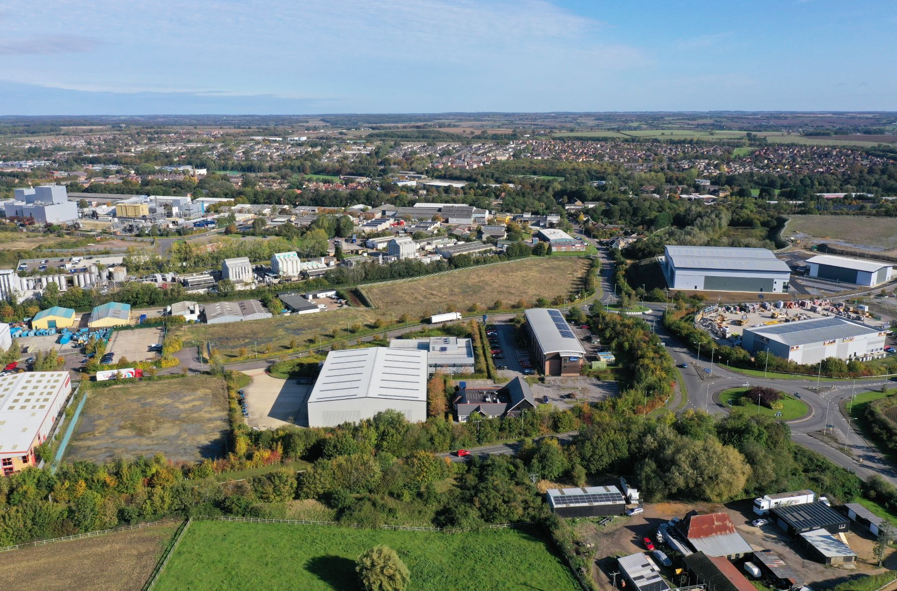 Only one development site remaining at Haverhill Business Park