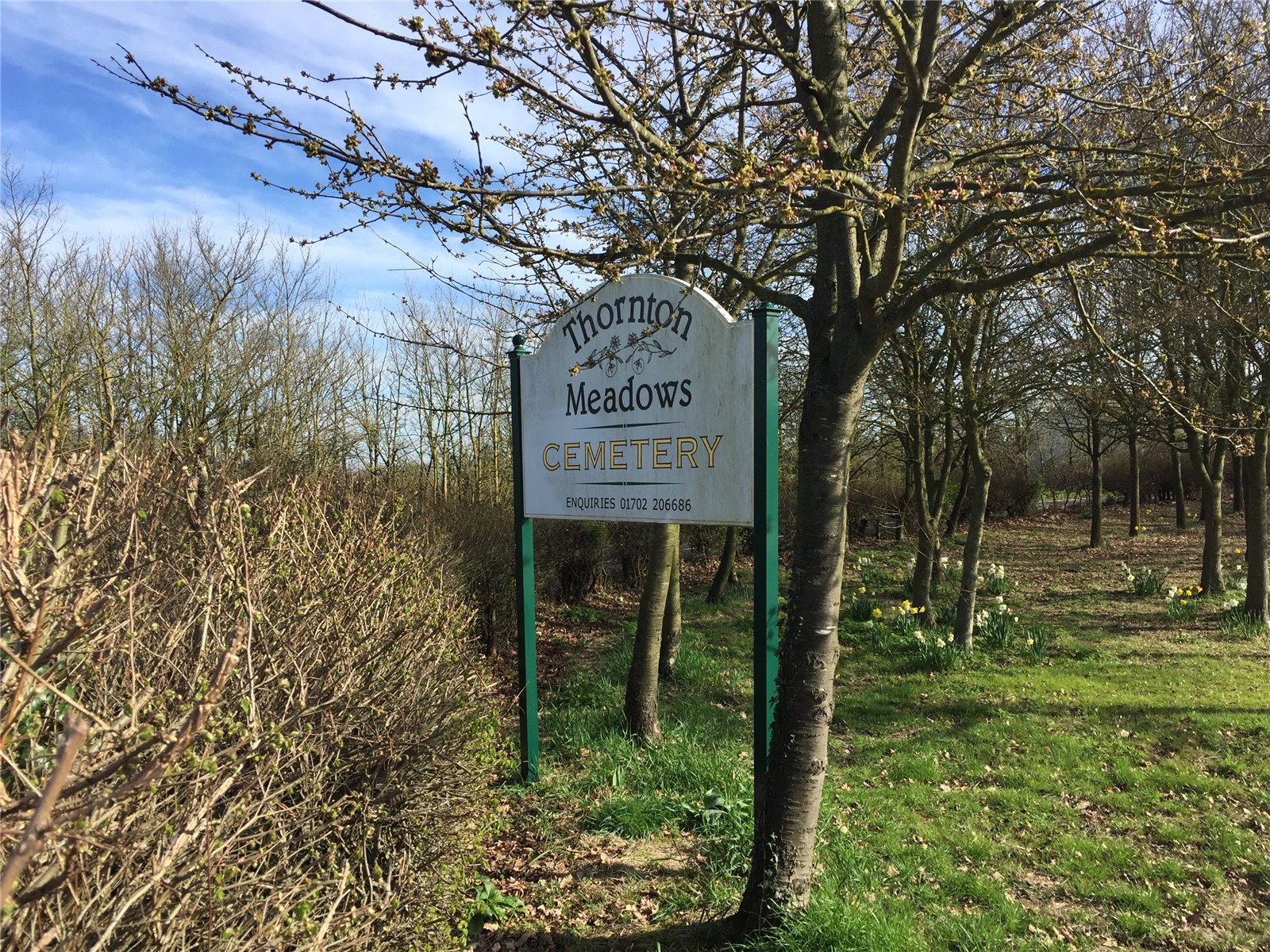 Wild Flower Cemetery sold in Essex