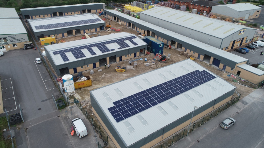New units being leased at Notts business park