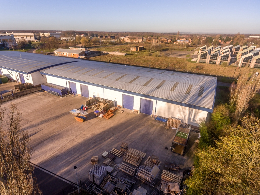 Two modern industrial units by Doncaster Airport sold by Fisher German