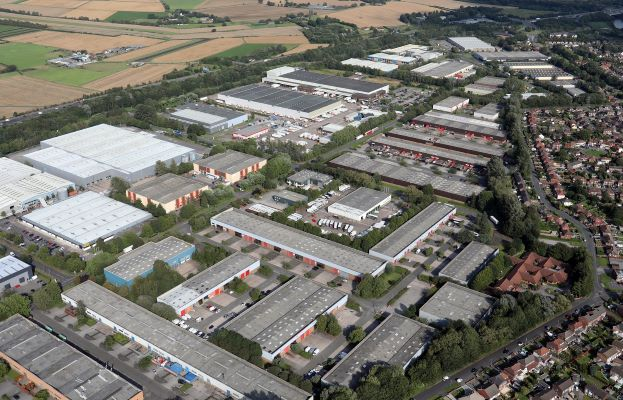 Logistics driving demand for industrial stock