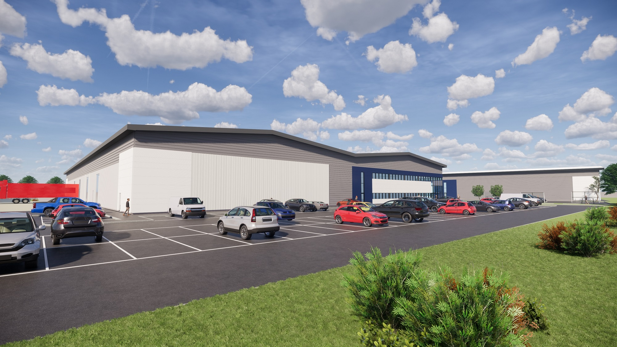 Bespoke industrial units announced at new County Durham development