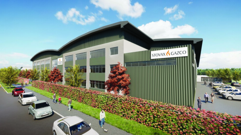 Stovax sign lease on new site in Exeter
