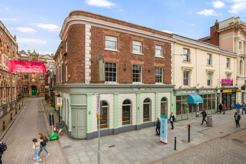 Iconic building for prime leisure use comes to market in Exeter