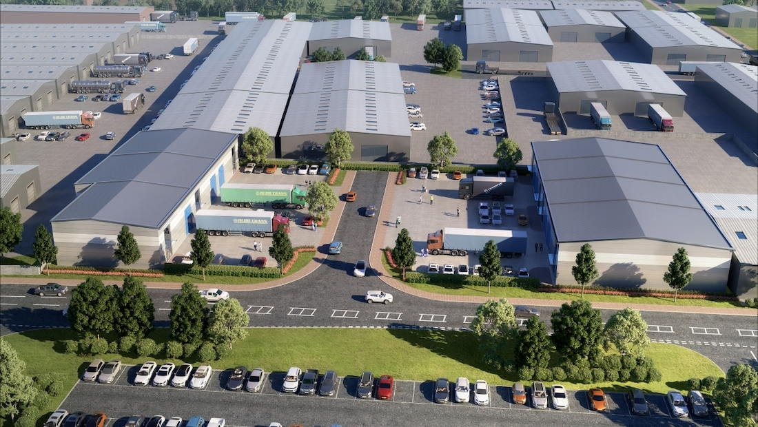 Major new trade development takes its place in booming Bicester